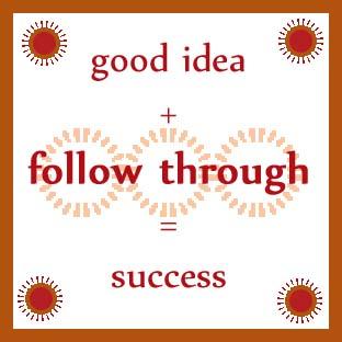 follow-through